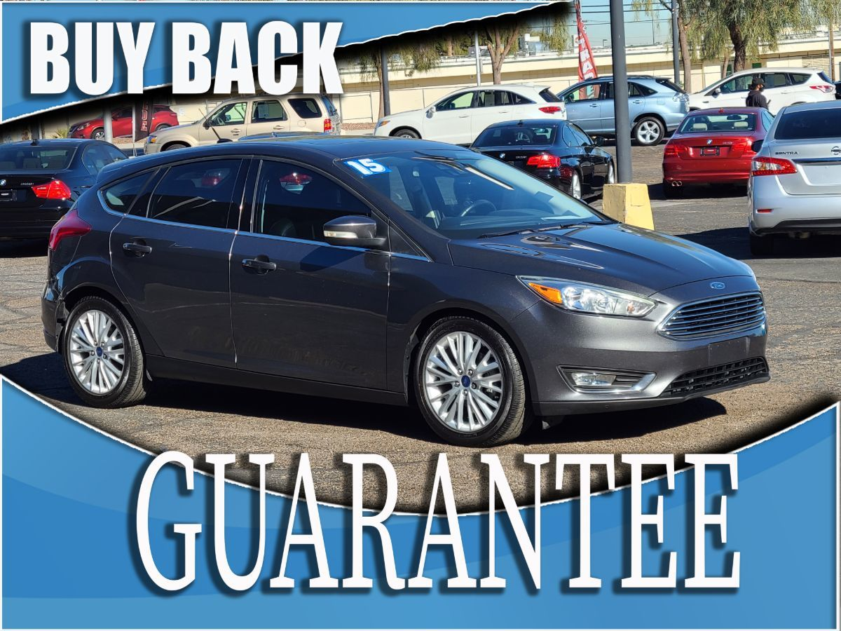 2015 Ford Focus Titanium    W / CERTIFIED PROTECTION