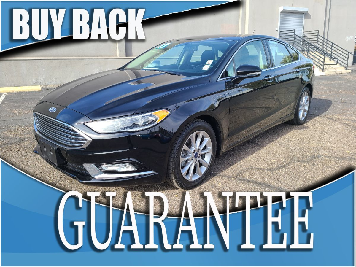 2017 Ford Fusion SE   W / CERTIFIED PROTECTION