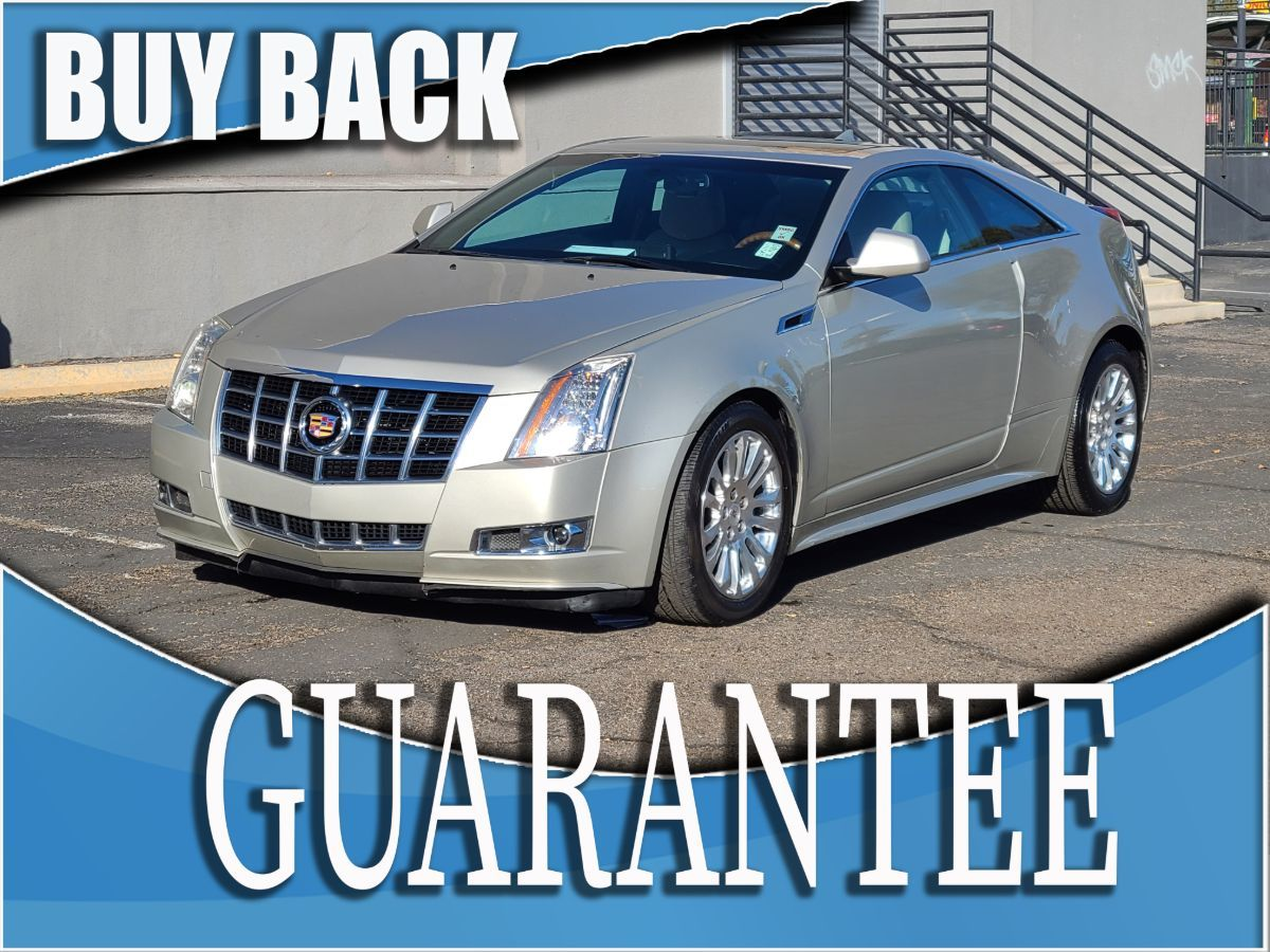 2014 Cadillac CTS Coupe Premium    W / CERTIFIED PROTECTION