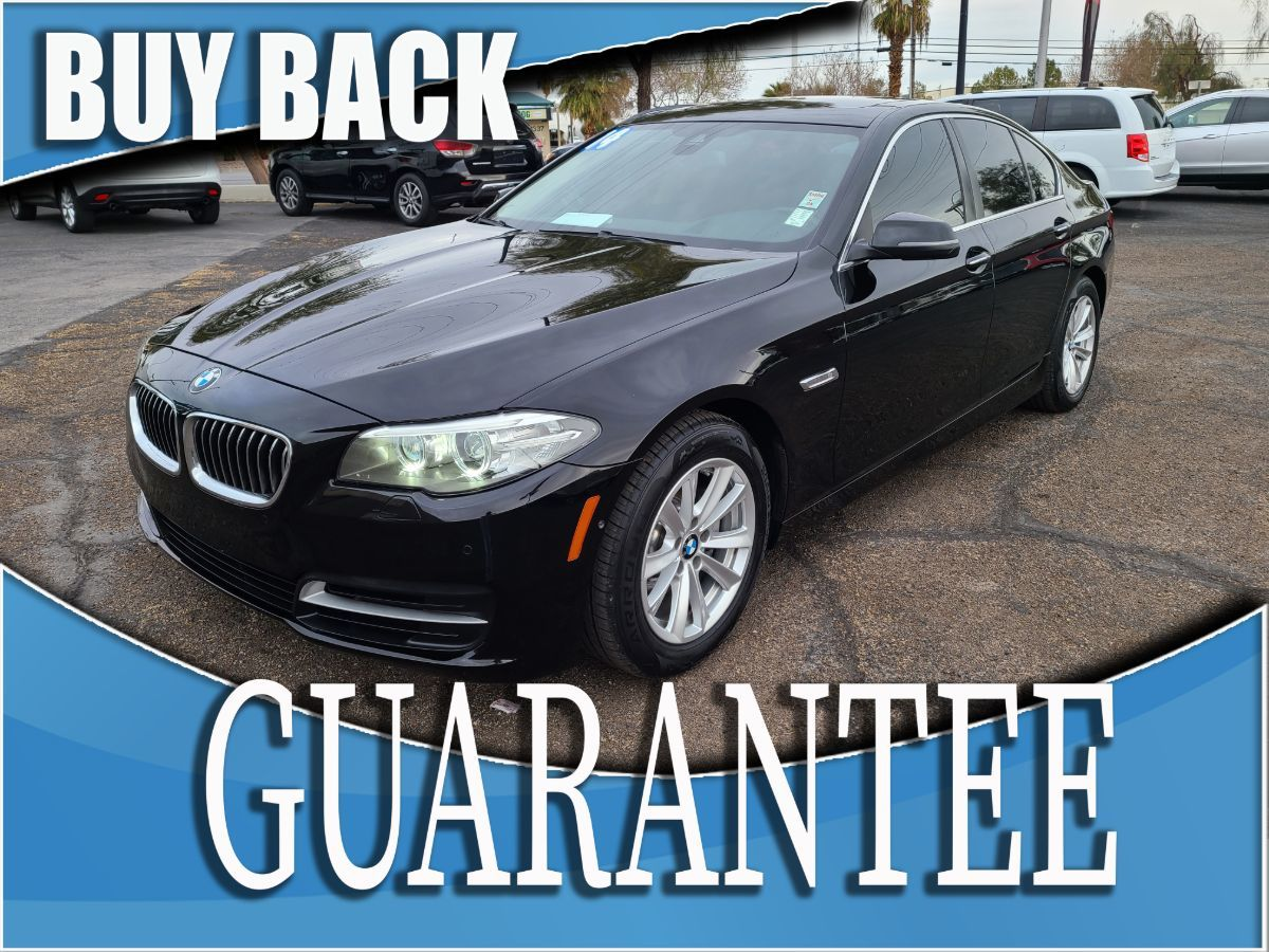 2014 BMW 5 Series 528i     W / CERTIFIED PROTECTION