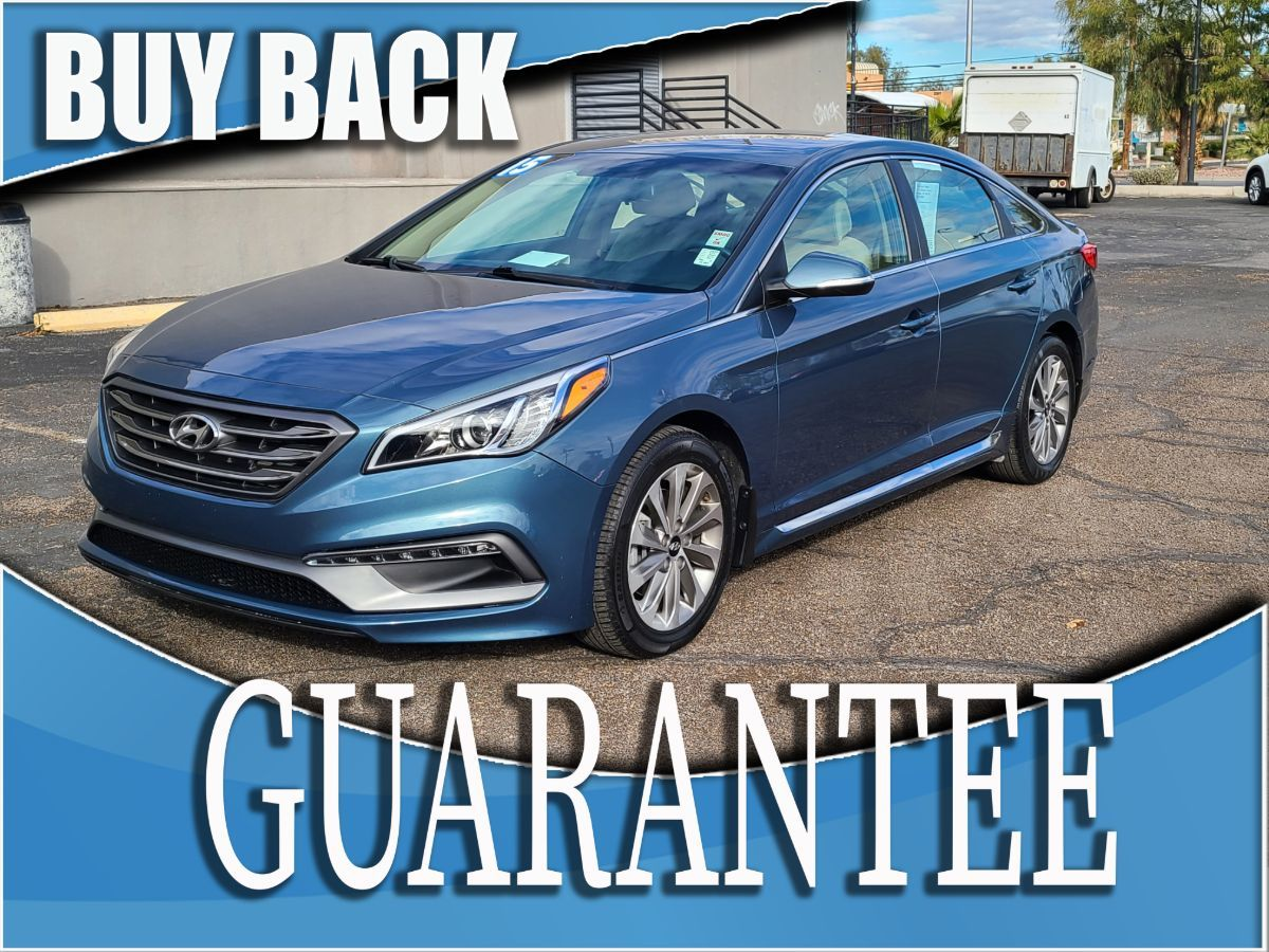 2015 Hyundai Sonata 2.4L Sport    W / CERTIFIED PROTECTION