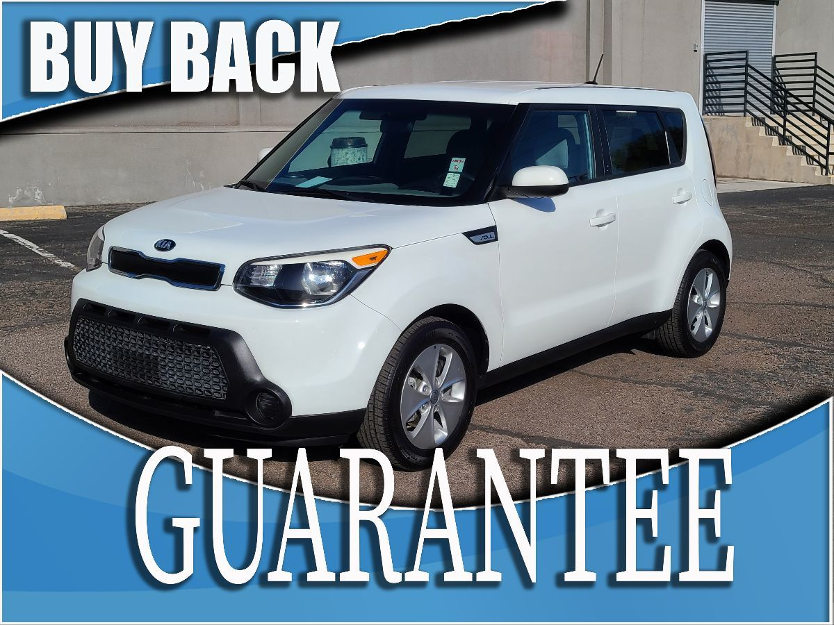 2015 Kia Soul Base   W / CERTIFIED PROTECTION