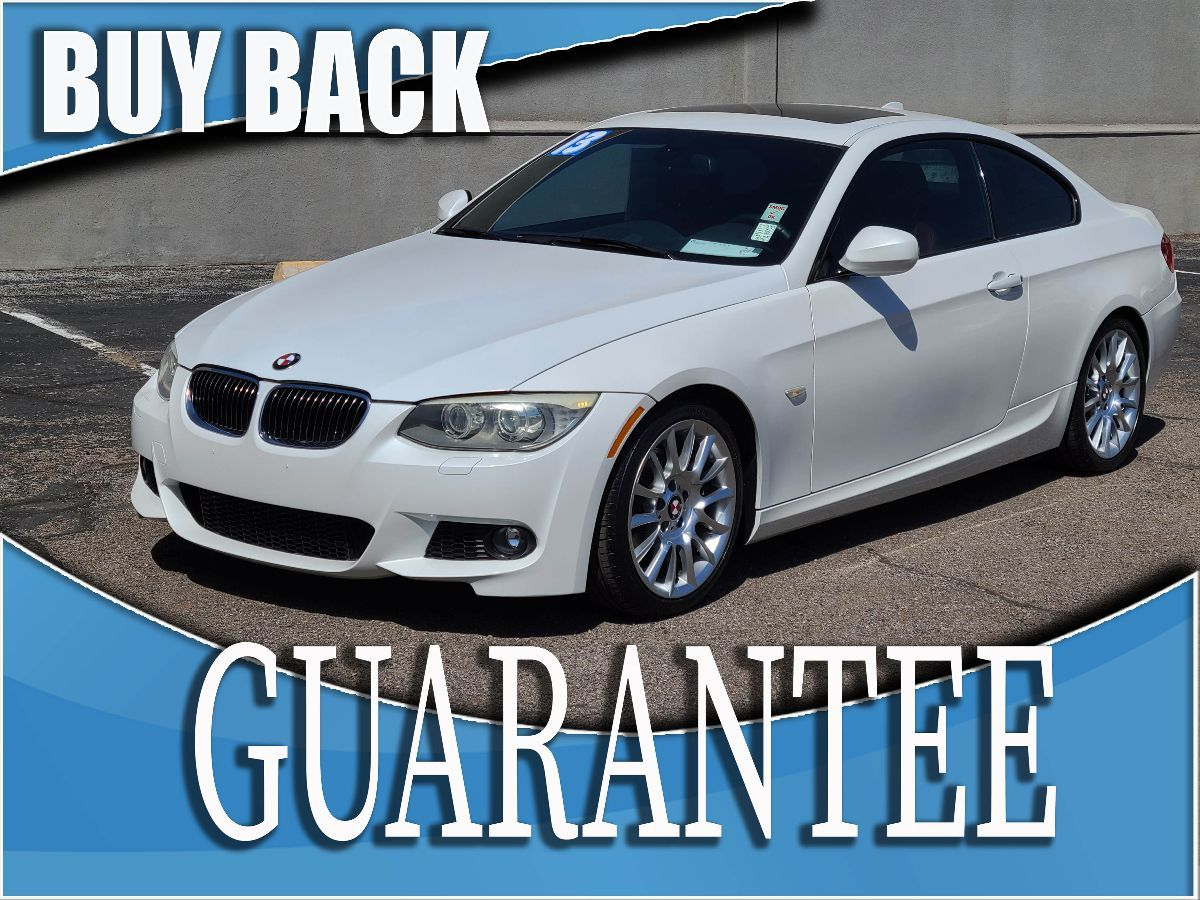 2013 BMW 3 Series 328i   W / CERTIFIED PROTECTION