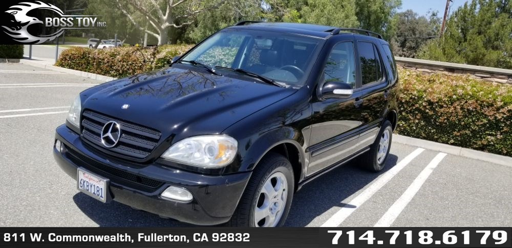 Sold 2003 Mercedes-Benz ML350 SUV in Fullerton