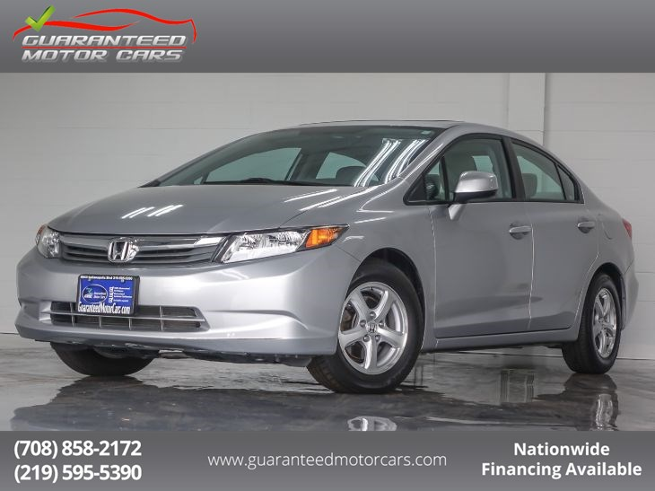 2012 Honda Civic Sdn CNG