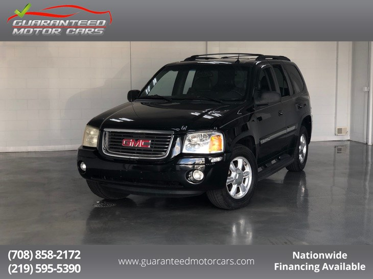 Sold 2004 Gmc Envoy Slt In Lansing