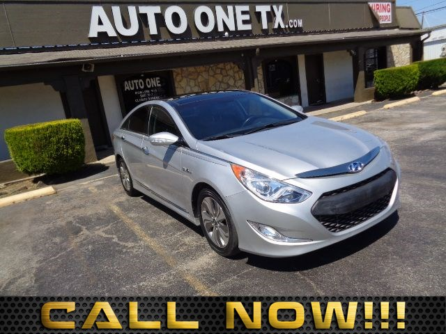 2013 Hyundai Sonata Hybrid Limited w/Panoramic Sunroof Pkg