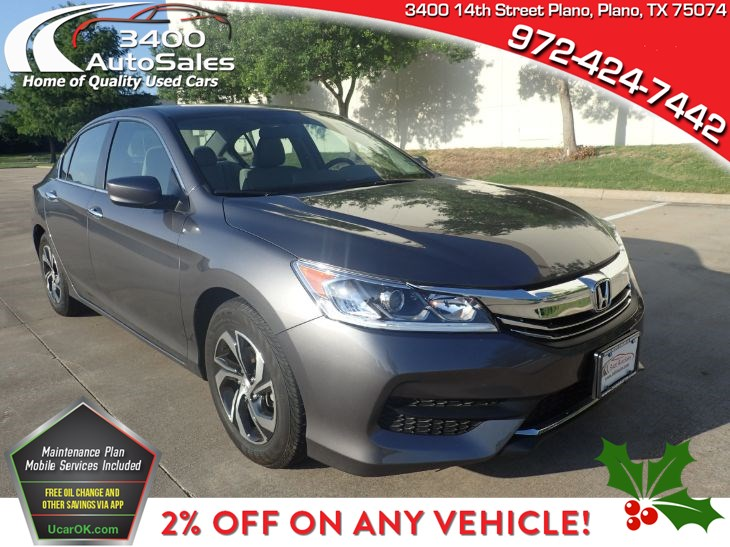 2017 Honda Accord Sedan LX - 3400 Auto Sales & Service on