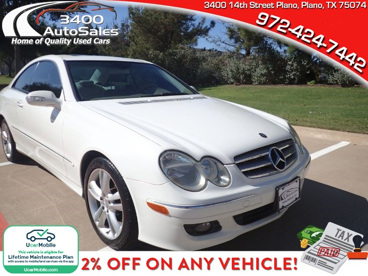 2007 Mercedes-Benz CLK350 Coupe