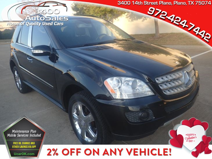 2008 Mercedes-Benz ML350 SUV