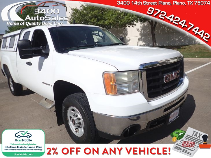 2009 GMC Sierra 2500HD Work Truck