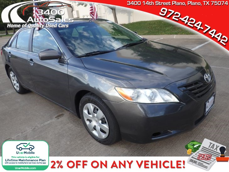 [TBQL_4184]  Certified Used 2009 Toyota Camry LE in Plano | 2009 Toyota Camry Fuse Box Youtube |  | 3400 Auto Sales & Service