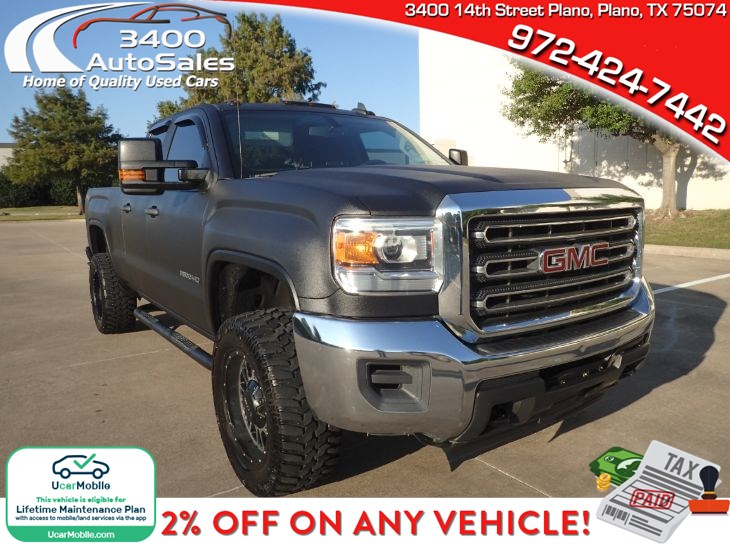 2015 GMC Sierra 2500HD available WiFi