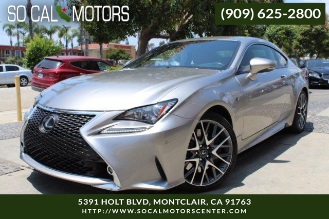 2016 Lexus RC 350 F-SPORT PACKAGE