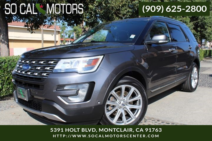 2016 Ford Explorer Limited Sport Utility 4D
