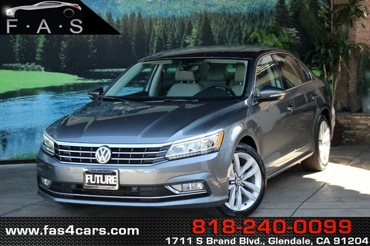 sold 2017 volkswagen passat 1 8t se w technology in glendale future auto sales