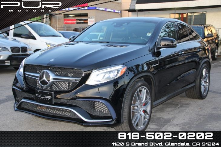 2016 Mercedes-Benz GLE 63 S 4MATIC Coupe