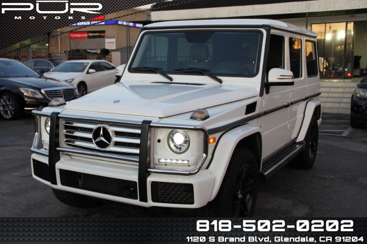 2017 Mercedes-Benz G 550 4MATIC SUV