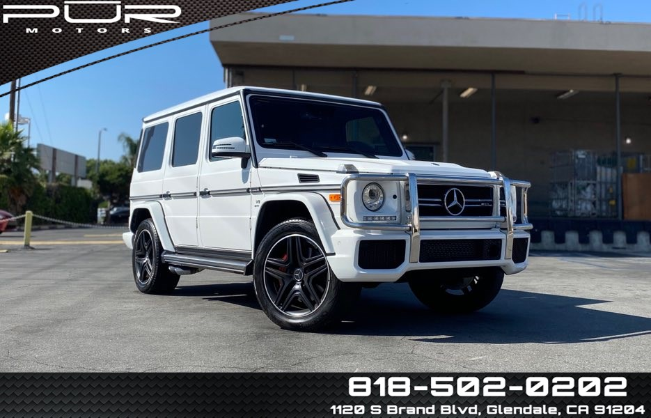 2018 Mercedes-Benz AMG G 63 4MATIC SUV