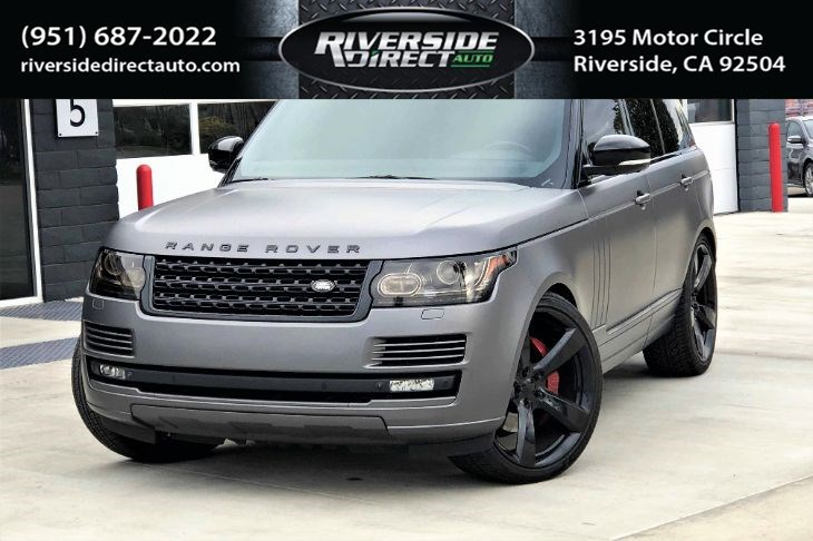 2015 Land Rover Range Rover Supercharged MATTE GRAY WRAP