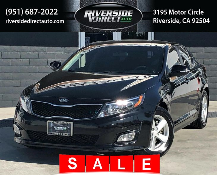 2015 Kia Optima LX One Owner