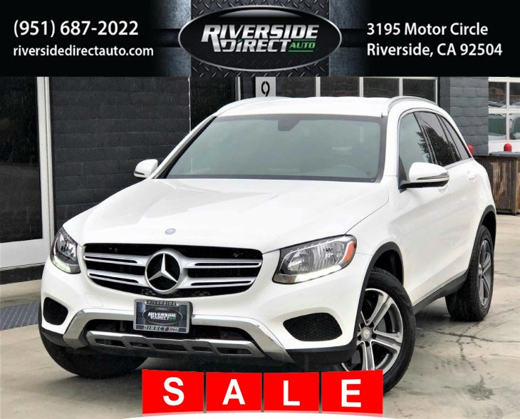 2017 Mercedes-Benz GLC 300 4MATIC SUV One Owner