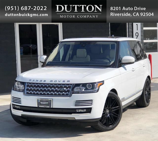 2017 Land Rover Range Rover 1 Owner MSRP $112,406