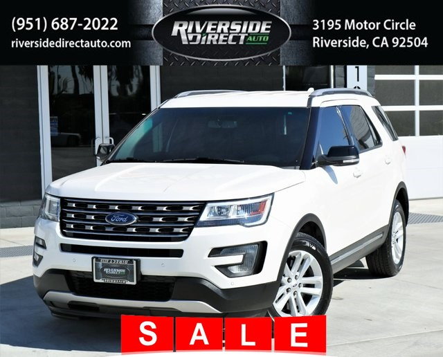 2016 Ford Explorer XLT Clean CARFAX