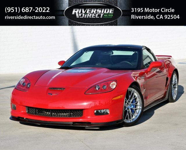 2009 Chevrolet Corvette Zr1 W 3zr Riverside Direct Auto