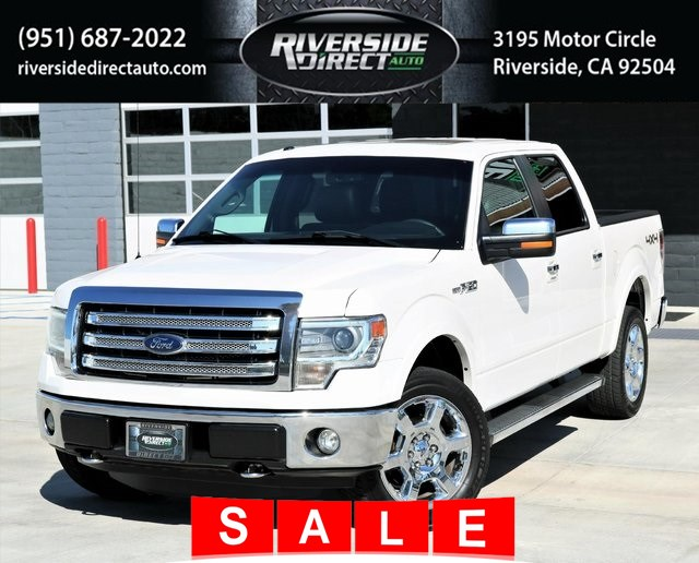 2013 Ford F-150 Lariat 4X4 One Owner