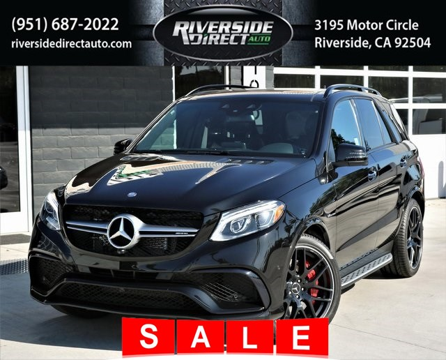 2017 Mercedes-Benz AMG GLE 63 4MATIC SUV MSRP $117,810