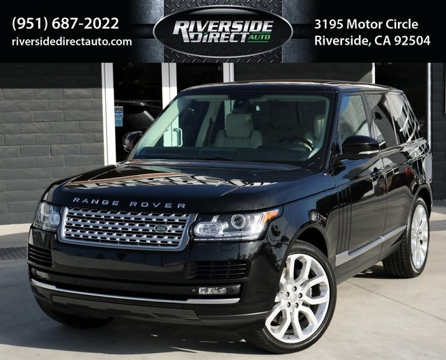 2014 Land Rover Range Rover Supercharged One Owner MSRP $110,576