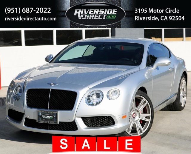 2013 Bentley Continental GT V8 MSRP $189,850