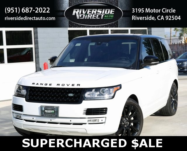 2016 Land Rover Range Rover Supercharged 1 OWNER