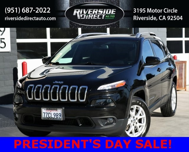 2017 Jeep Cherokee Latitude One Owner