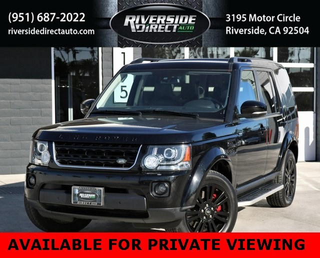 2015 Land Rover LR4 HSE LUX One Owner