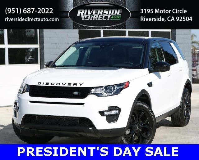 2016 Land Rover Discovery Sport HSE Black Design Package