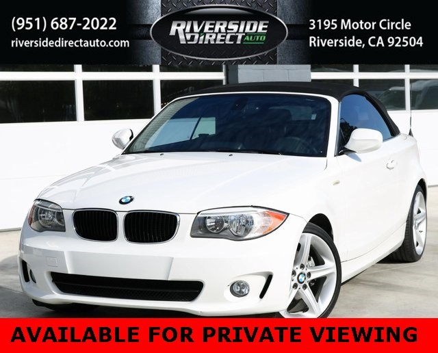 2013 BMW 1 Series 128i Convertible Clean Carfax