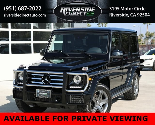 2017 Mercedes-Benz G 550 4MATIC SUV Clean Carfax