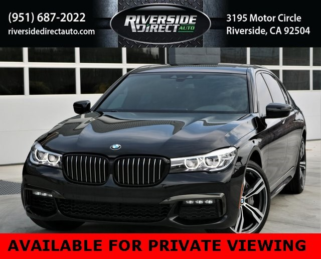 2019 BMW 7 Series 740i M Sports Package