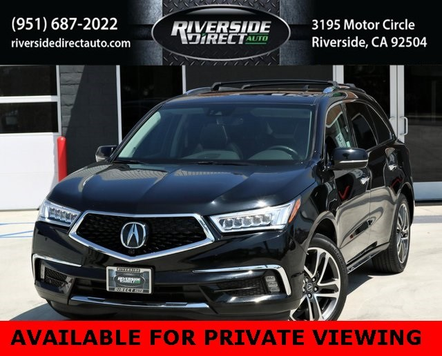 2017 Acura MDX w/Advance Pkg One Owner
