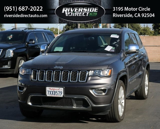 2017 Jeep Grand Cherokee Limited One Owner