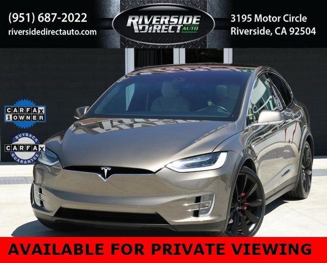 2016 Tesla Model X P90D One Owner