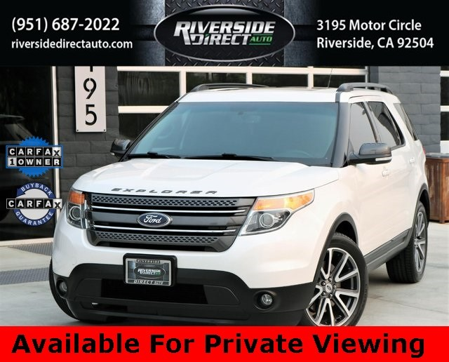 2015 Ford Explorer XLT Appearance Package One Owner