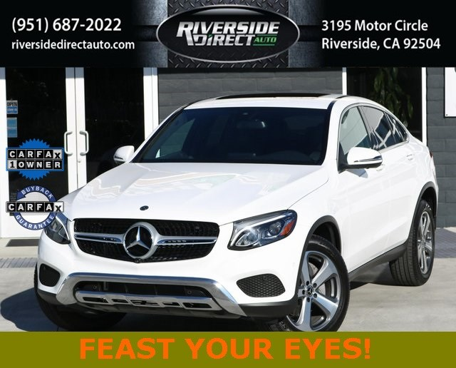 2019 Mercedes-Benz GLC 300 4MATIC Coupe One Owner