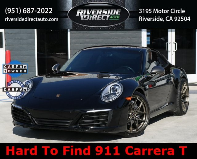 2019 Porsche 911 Carrera T One Owner