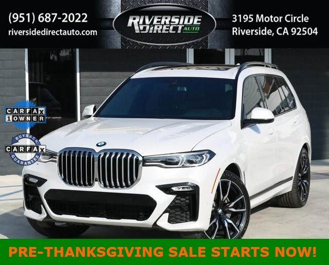 2019 BMW X7 xDrive40i M Sport One Owner