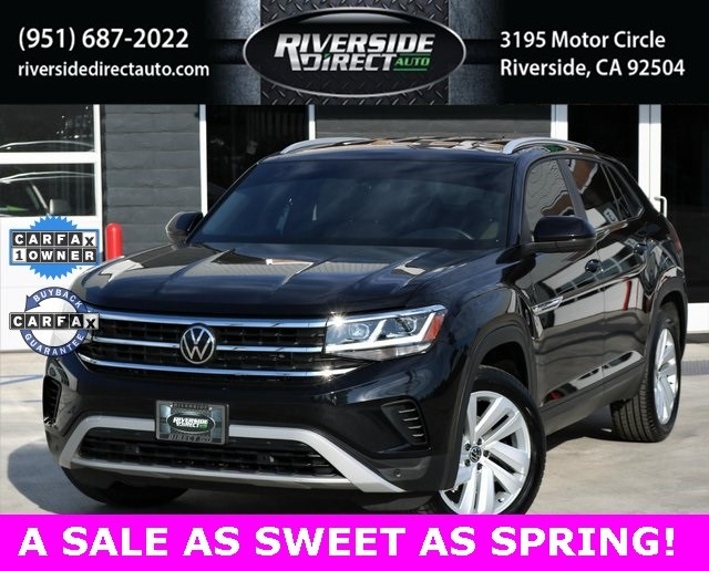 2020 Volkswagen Atlas Cross Sport 3.6L V6 SE w/Technology One Owner