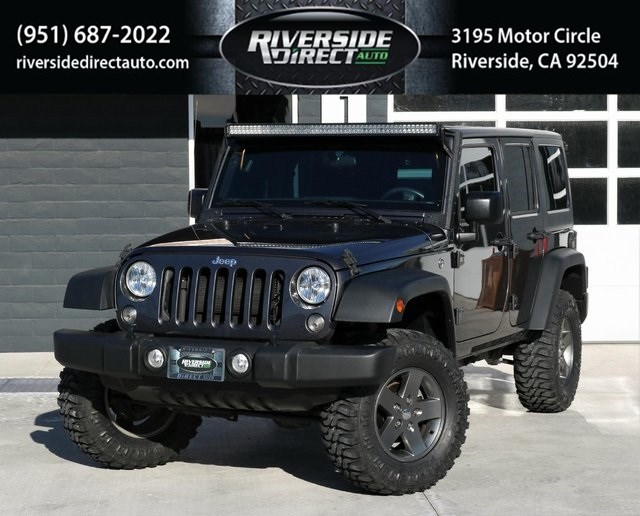 2017 Jeep Wrangler Unlimited Sport One Owner