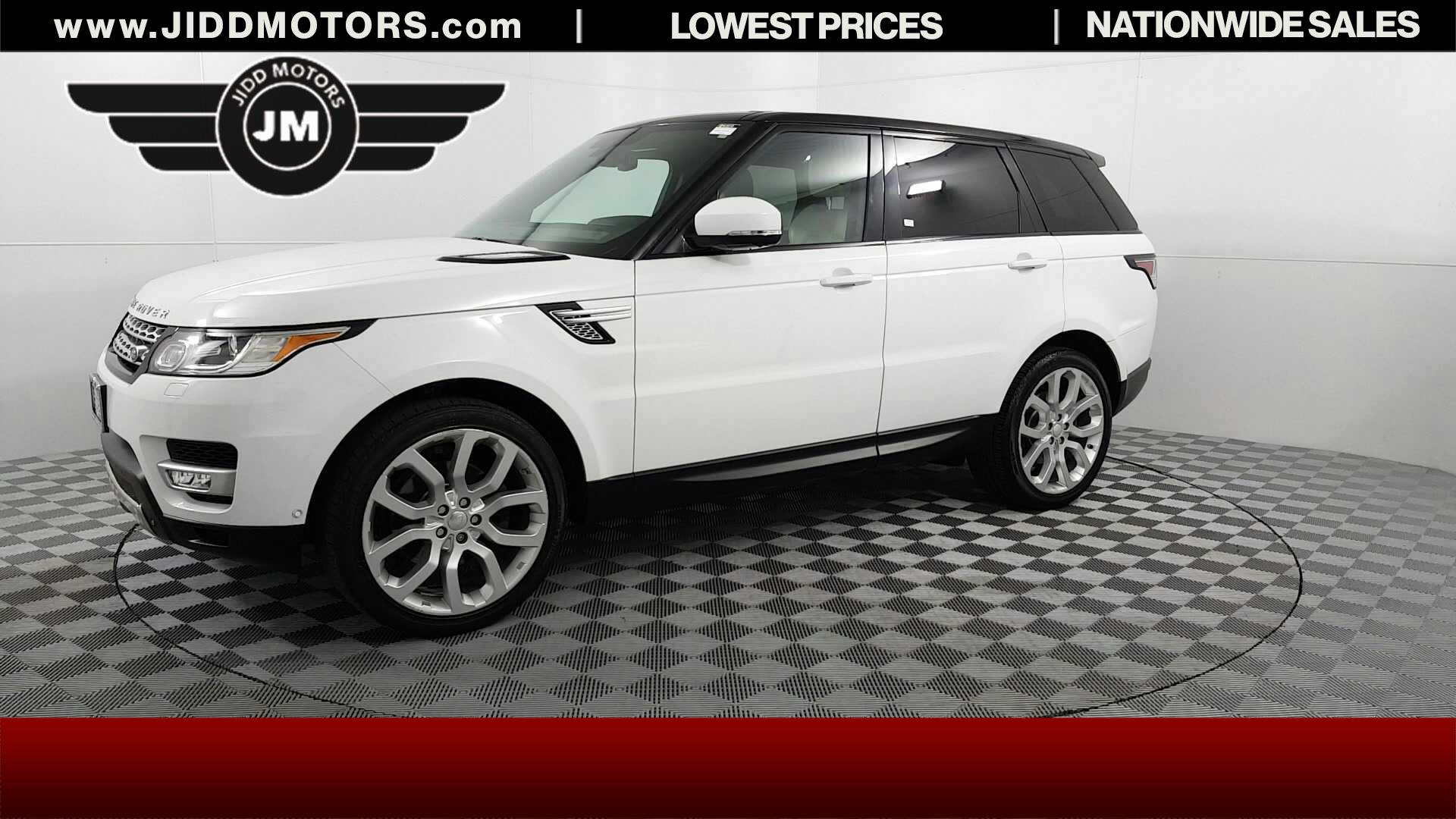 Used 2014 Land Rover Range Rover Sport 3 0L V6 Supercharged HSE in